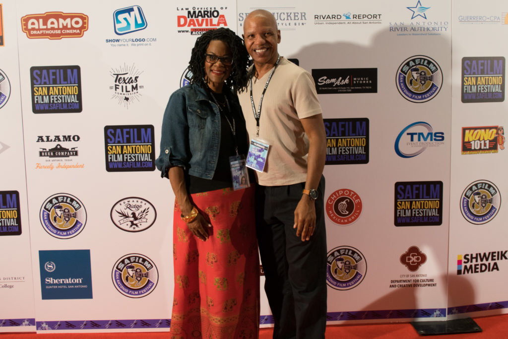 Lisa N. and Elgin Alexander at the San Antonio Film Festival